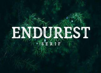 Endurest Display Font