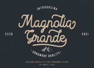 Magnolia Grande Script Font