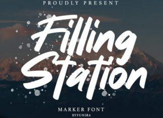 Filling Station Brush Font