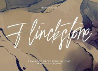 Flinckstone Script Font