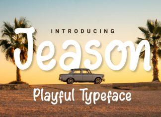 Jeason Display Font