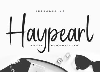 Haypearl Handwritten Font