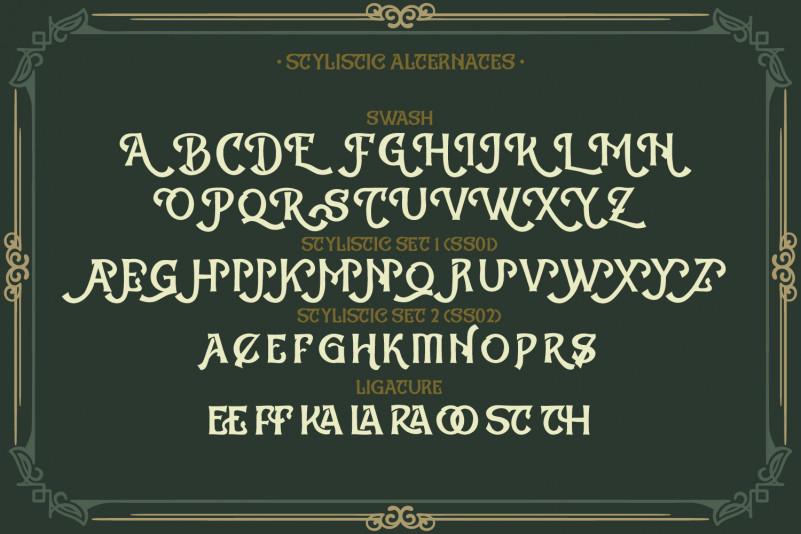 Lastones  Blackletter Font