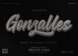 Gonzalles Script Font