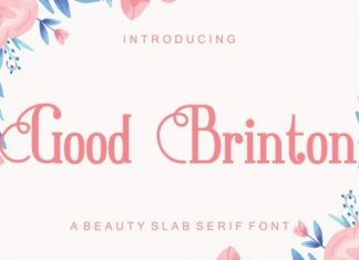 Good Brinton Slab Serif Font