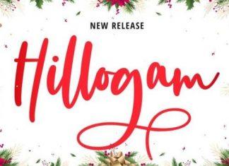 Hillogam Script Font