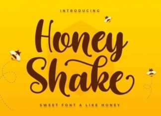 Honey Shake Script Font