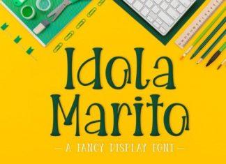Idola Marito Display Font