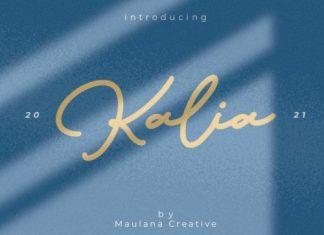 Kalia Script Font