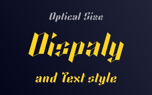 Kalosgon Display Font