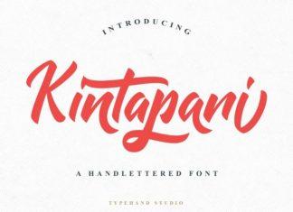 Kintapani Script Font