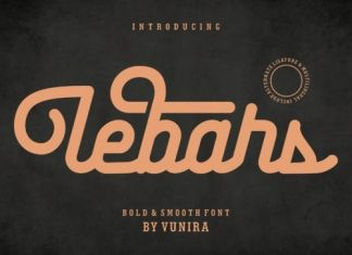 Lebars Script Font