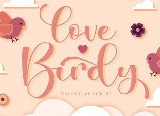 Love Birdy Calligraphy Font