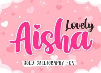 Lovely Aisha Script Font