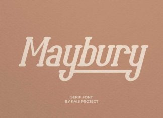 Maybury Serif Font