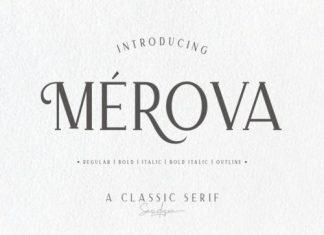 Merova Serif Font