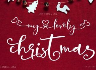 My Lovely Christmas Script Font