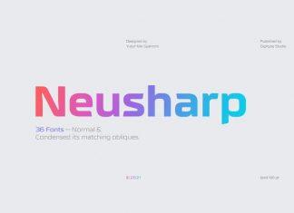 Neusharp Sans Serif Font