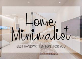 Home Minimalist Script Font