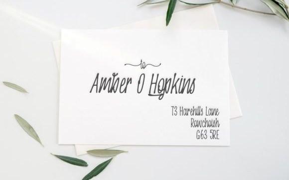Oranjipen Handwritten Font