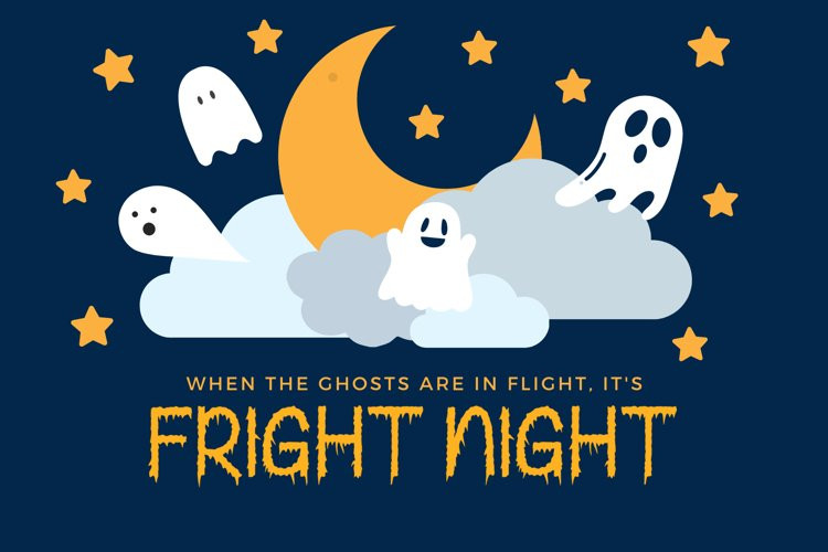 Creepy Ghost Display Font