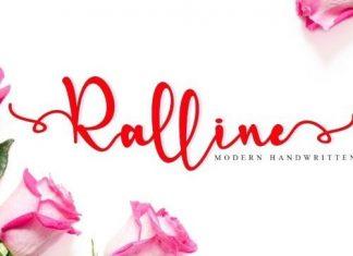 Ralline Calligraphy Font