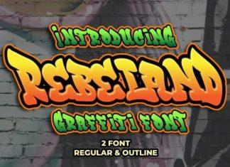 Rebeland Display Font