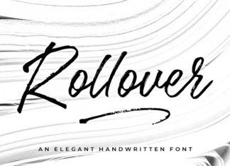 Rollover Script Font