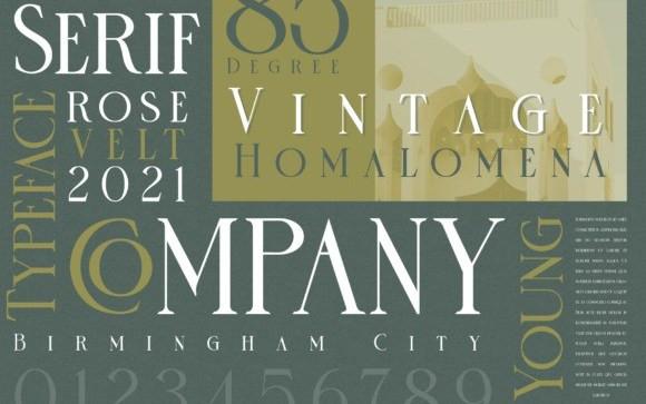 Rose Velt Serif Font
