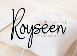 Royseen Handwritten Font