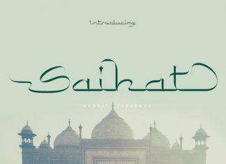 Saihat Display Font