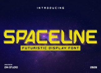 Spaceline Display Font