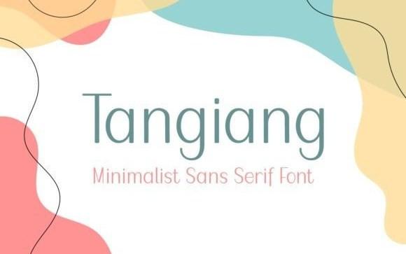Tangiang Sans Serif Font