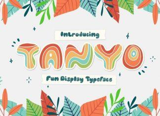 TANYO Display Font