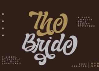 The Bride Script Font