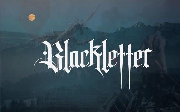 Tisk Blackletter Font