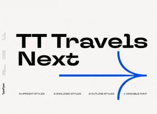 TT Travels Next Sans Serif Font