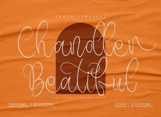 Chandler Beautiful Handwritten Font