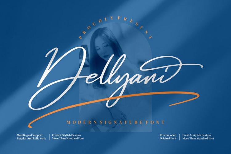Dellyani Handwritten Font