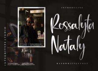 Rossalyta Nataly Script Font