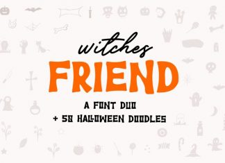 Witches Friend Font Duo