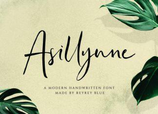 Asillynne Script Font