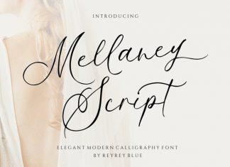 Mellaney Calligraphy Font
