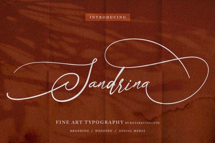 Sandrina Script Font