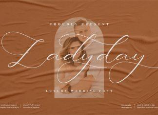 Ladyday Script Font