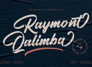 Raymont Qalimba Calligraphy Font