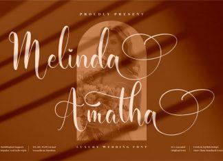 Melinda Amatha Script Font