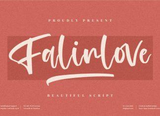 Falinlove Script Font
