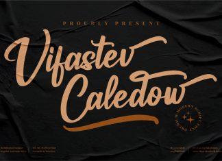 Vifastev Caledow Calligraphy Font