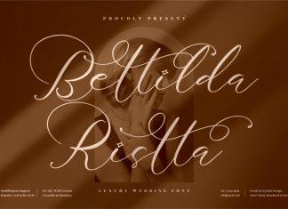 Bettilda Ristta Script Font